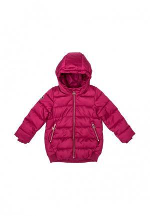 Куртка утепленная PlayToday. Цвет: фуксия