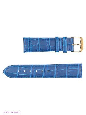 Ремень д/часов, им.АЛЛИГАТОРА J.A. Willson. Цвет: синий