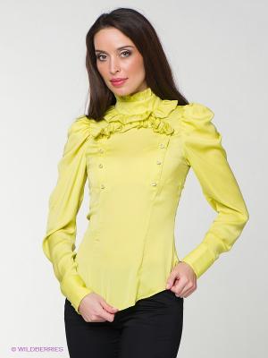 Блузка MONDIGO. Цвет: салатовый