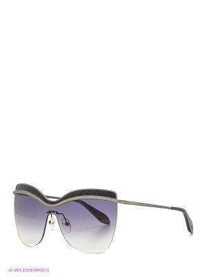 Солнцезащитные очки BLD 1618 101 Baldinini. Цвет: серый, фиолетовый