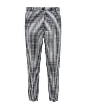 Повседневные брюки 8. Цвет: светло-серый