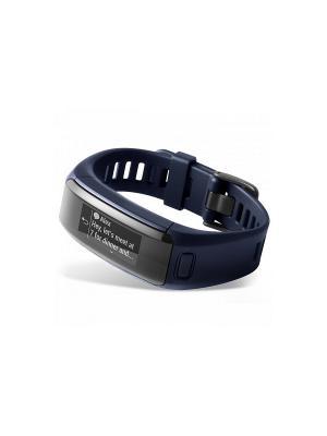 Фитнес-браслет Vivosmart HR синий со встроенным пульсометром GARMIN. Цвет: синий