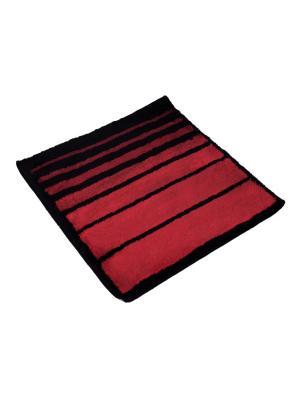 Мягкий коврик для ванной комнаты 70x70 см Barra red WESS. Цвет: красный