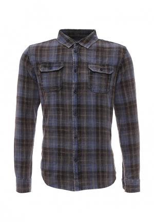 Рубашка Fresh Brand. Цвет: серый