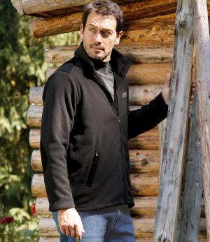 Флисовая Куртка «Wood River» AFM. Цвет: серыи