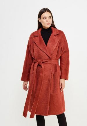 Пальто Pallari. Цвет: коричневый