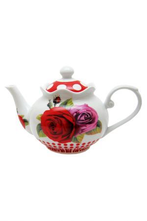 Чайник UNION. Цвет: красный, белый