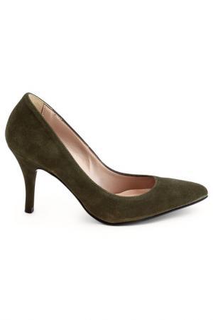 Туфли FORMENTINI. Цвет: болотно-зеленый
