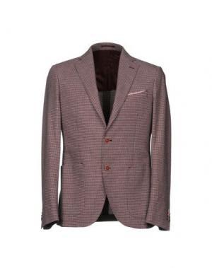 Пиджак REPORTER. Цвет: красно-коричневый