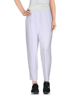 Повседневные брюки LO not EQUAL. Цвет: белый