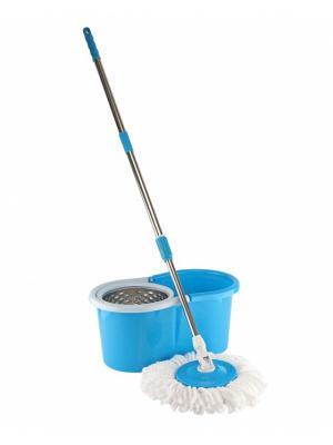 Швабра-вертушка Верта RUGES. Цвет: синий