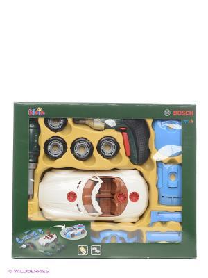 Игровой набор Тюнинг ателье с машиной для сборки KLEIN. Цвет: белый