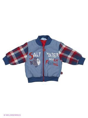 Куртка Бимоша. Цвет: синий, красный