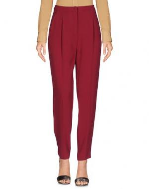 Повседневные брюки MAX & CO.. Цвет: пурпурный