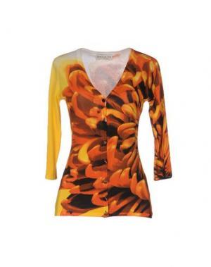 Кардиган PASSIONI. Цвет: оранжевый