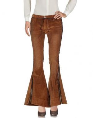 Повседневные брюки ONE x ONETEASPOON. Цвет: верблюжий