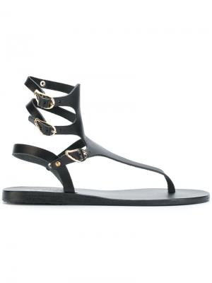Сандалии mis Ancient Greek Sandals. Цвет: чёрный