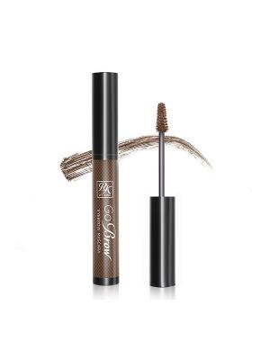 Kiss Тушь для бровей  Rich Chocolate Brown Eyebrow mascara RBM03. Цвет: коричневый