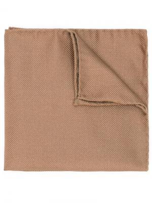 Классический платок паше Dsquared2. Цвет: коричневый