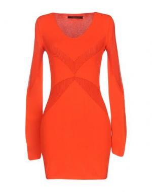 Короткое платье TENAX. Цвет: красный