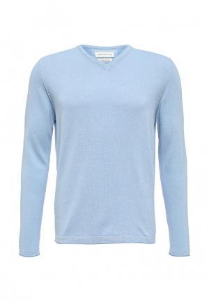 Пуловер Harris Wilson. Цвет: голубой