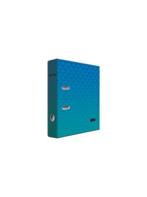 Регистратор ламинированный 8см Pierre Cardin Geometrie Blue. Цвет: голубой