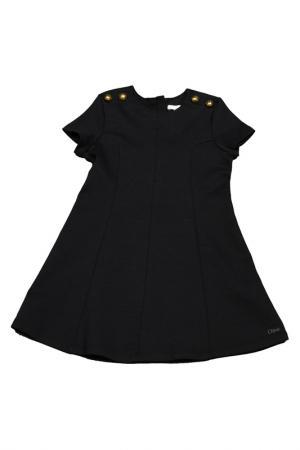 Платье Chloe. Цвет: темно-синий