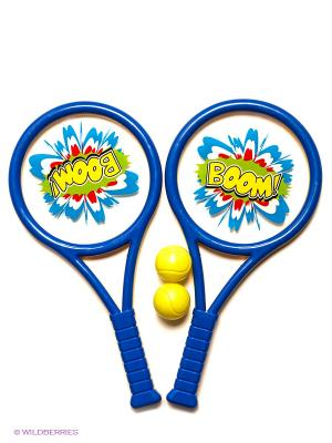 Набор ракеток для тенниса VELD-CO. Цвет: желтый, синий