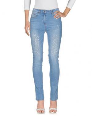 Джинсовые брюки NO SECRETS. Цвет: синий