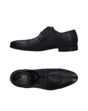 Обувь на шнурках FABIANO RICCI. Цвет: черный