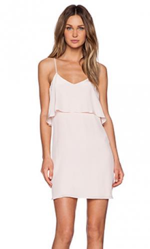 Платье fina Rory Beca. Цвет: розовый