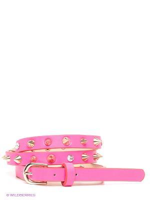 Ремень MONDIGO. Цвет: розовый