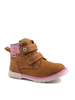 Ботинки Obba. Цвет: рыжий