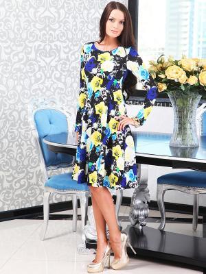 Платье Lussotico. Цвет: черный, белый, голубой, желтый, синий
