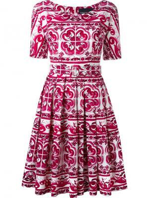 Платье May Samantha Sung. Цвет: розовый и фиолетовый