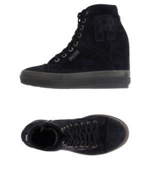 Высокие кеды и кроссовки RUCO LINE. Цвет: темно-синий