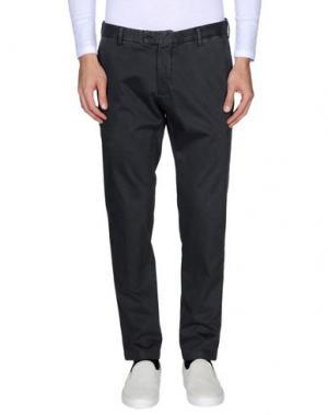 Повседневные брюки BARBA NAPOLI. Цвет: свинцово-серый