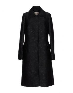 Легкое пальто PINK MEMORIES. Цвет: черный