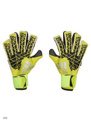 Вратарские перчатки взр. ACE TRANS FS PR  SYELLO/BLACK/SESOYE Adidas. Цвет: желтый, черный