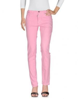 Джинсовые брюки ANTONY MORATO. Цвет: розовый