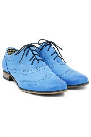 Ботинки ZAPATO. Цвет: синий