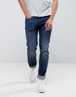 Edwin Зауженные джинсы слим ED-80. Цвет: синий