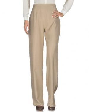 Повседневные брюки FONTANA COUTURE. Цвет: песочный