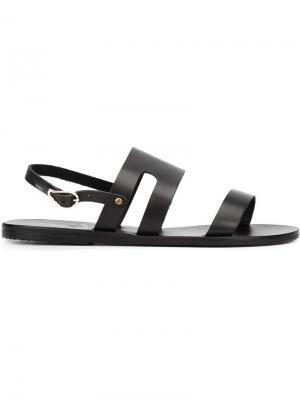 Сандалии Athanasia Ancient Greek Sandals. Цвет: чёрный