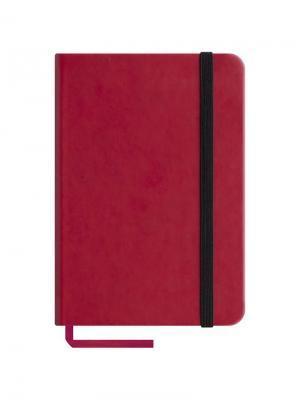 Записная книжка  Classic Velvet на резинке Office space. Цвет: красный