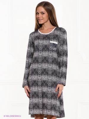 Платье PENYE MOOD. Цвет: черный, белый, серый