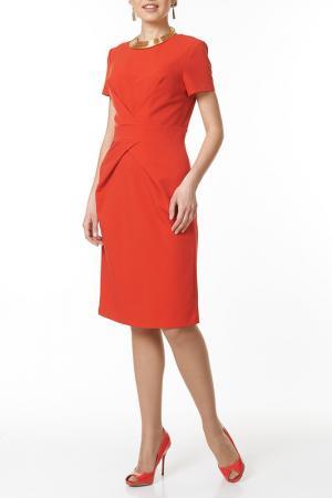 Платье Argent. Цвет: красный