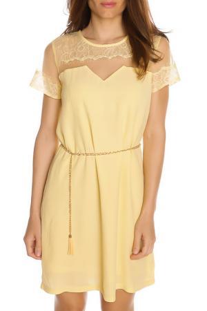 Платье GAZOIL. Цвет: yellow