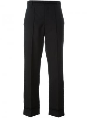 Классические брюки Marc Jacobs. Цвет: чёрный