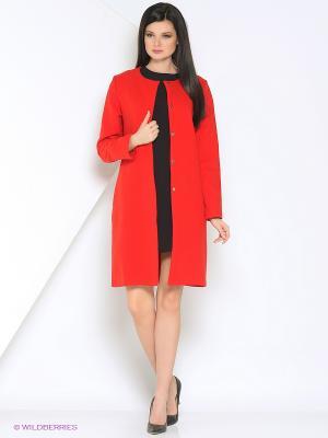 Пальто A.Karina. Цвет: красный